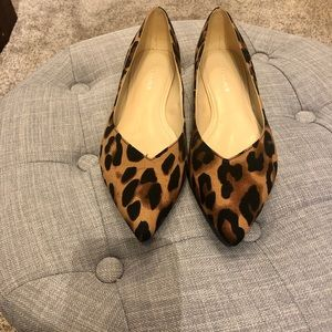 Leopard Print Flats by Marc Fisher